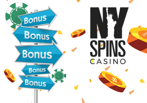 The welcome offer at NYSpins Casino